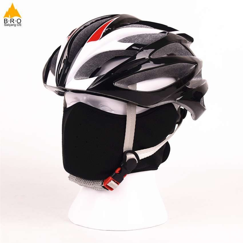 Cycling Mask 2018 New Men and Women Warm Windproof 4 Colors Fleece Bike Face Mask Outdoor Sports Skiing Riding MTB Bicycle Mask