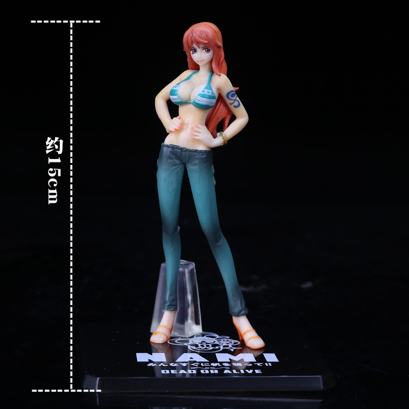 Tobyfancy One Piece Anime For the New World Nami 2 Year Later Onepiece PVC Action Figure Sexy Nami Collection Model Toy
