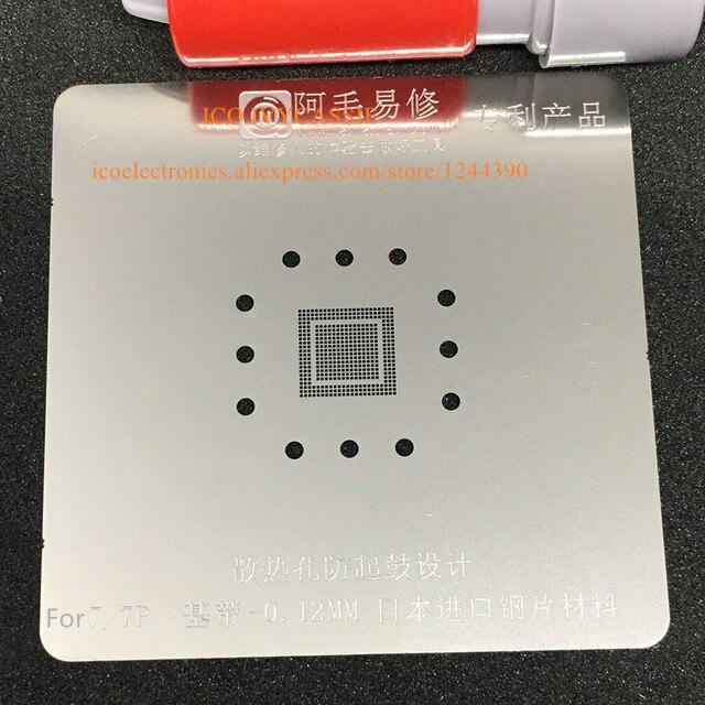 For Iphone 7 7p 7plus Baseband Ic Supply Chip Mdm9645 Bga Stencilbga Direct Heating Template 0 12mm Thickness