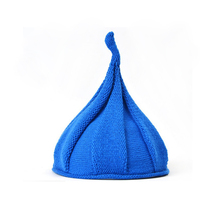 Wholesale 12 pcs Autumn Winter Baby Kids Caps Boys Girls Hats Children Beanies Pure Color Knitting Sharp Design High Quality