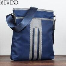 Miwind повседневные Офисные Сумки для мужчин Оксфорд дизайнерские сумки мужские сумки через плечо мужской Crossbody модные плечо человек TYH984
