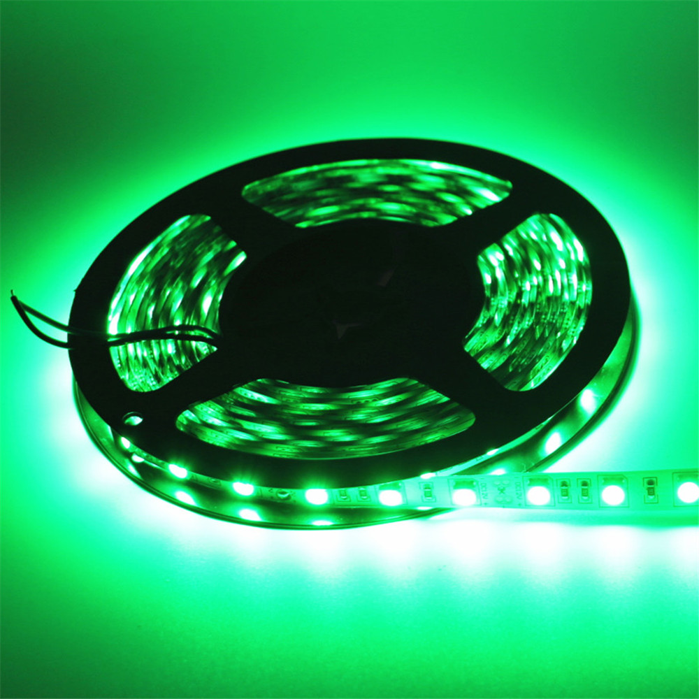 1/2/3/4/5m 5050SMD 60Leds/m Non-Waterproof Flexible Led Strip Light 12V LED Tap Lamp Cold White/Warm White/Red/Green/Blue/Yellow