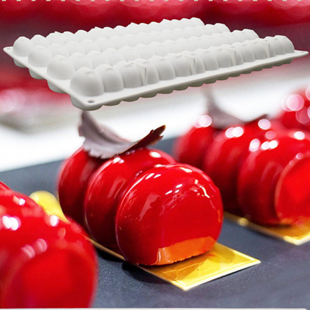 4b1f56df0 AMW Caterpillar Shaped Silicone Cake Mold Kitchen Bakeware Accessories  Mousse Cake Baking Mold DIY Baking Tools