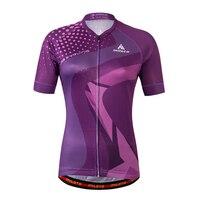 2017 Miloto Women Sports Clothing Top Cycling Jersey Bike Short Sleeve Bicycle Shirts Polyester Reflective Origina