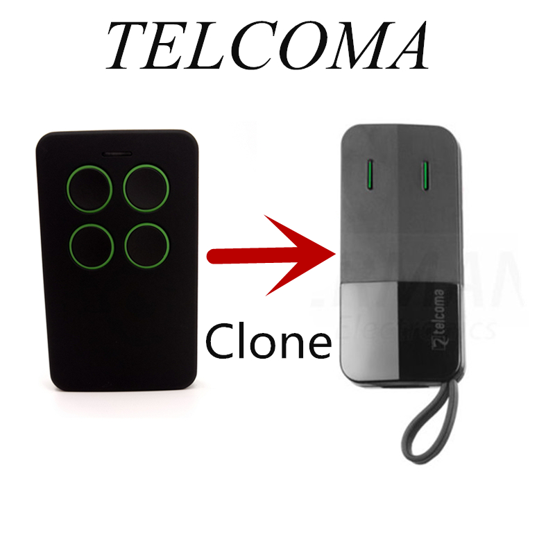 Clone:  TELCOMA FM402 Self Learning Replacement Cloning Remote Control Garage Gate Clone transmitter for garage door gates - Martin's & Co