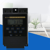 KG316T 25A Din Rail Digital Intelligent Microcomputer Programmable Electronic Timer Time Switch Relay Controller AC 220V