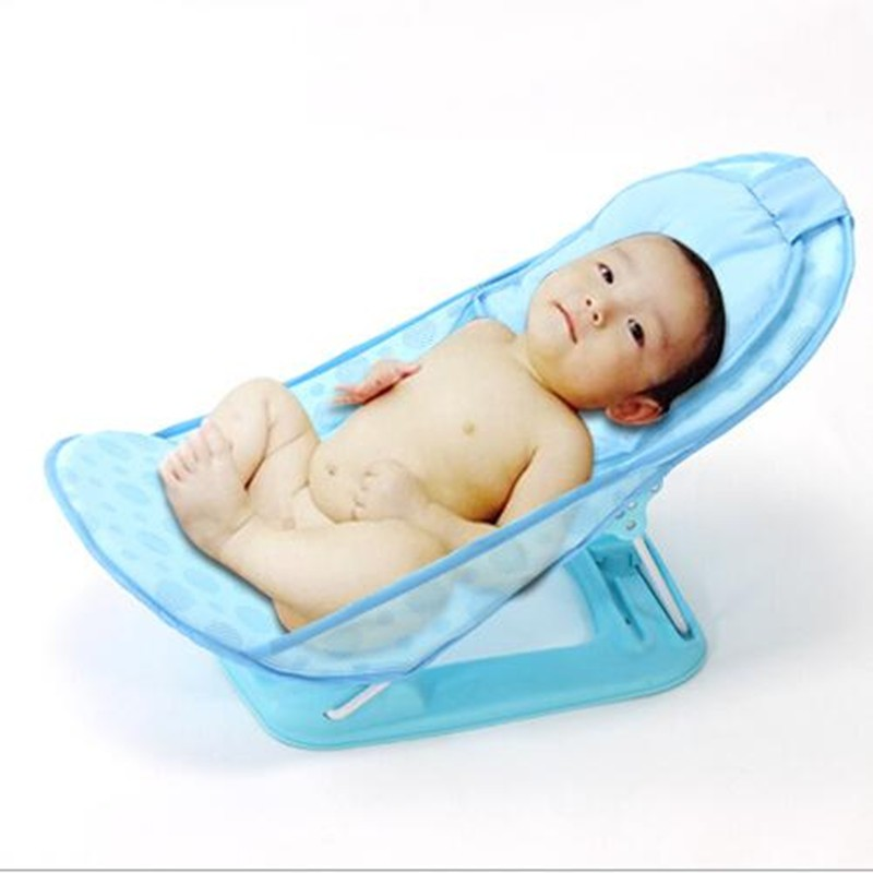 Baby Care Newborn Baby Bather Deluxe Bath Rack Shower Chair Infant ...