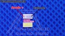 Dla INNOLUX LED podświetlenie LCD aplikacja telewizyjna podświetlenie LED EVERLIGHT 1 W 3 V 4020 fajne białe podświetlenie LCD do telewizor z dostępem do kanałów 50 715TUN3C
