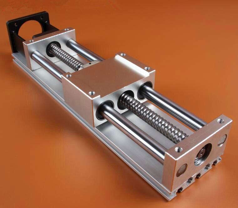 The C90 module of linear slide ball screw cross table 100 stroke