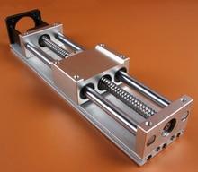 C90 модуль линейного слайд/шариковый винт крест стол/100 инсульта
