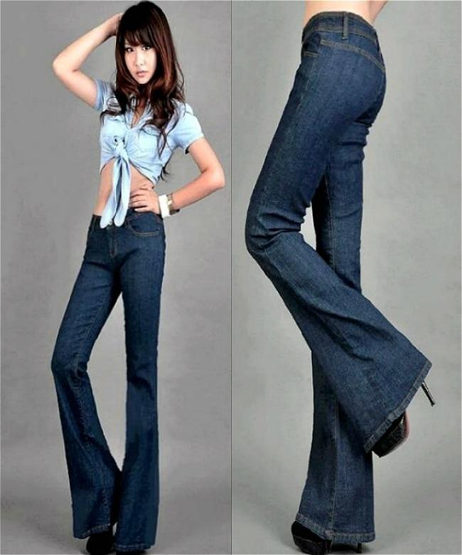 Aliexpress.com : Buy 2013 Fall Fashion low waist wide leg jeans ...