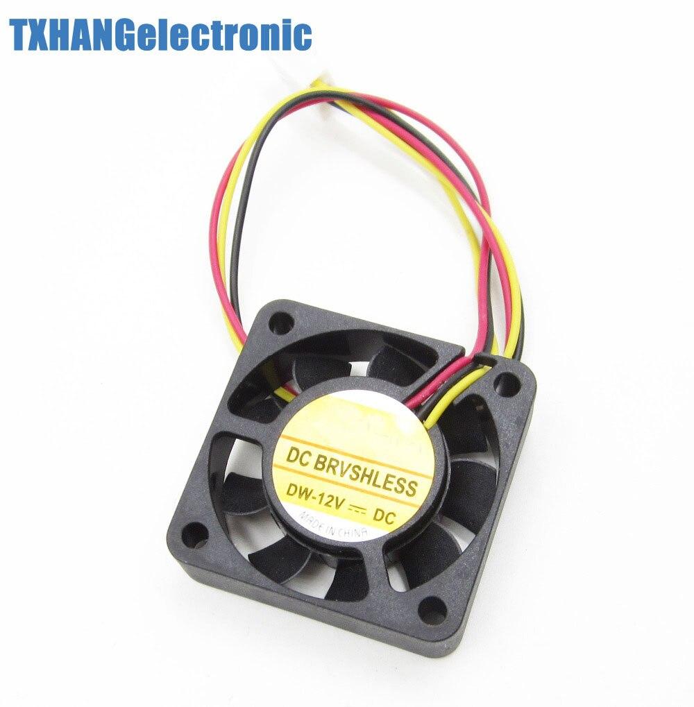 10Pcs 3 Pin 4cm Computer CPU Cooler Cooling Fan PC 4cm 40x40x10mm DC 12V