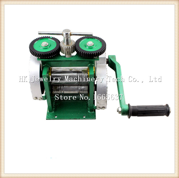 Livraison gratuite goldsmith le meilleur laminoir, or mini Laminoir, moulin bijoux de roulement avec ouverture Maximale 0-5mm goldsmit