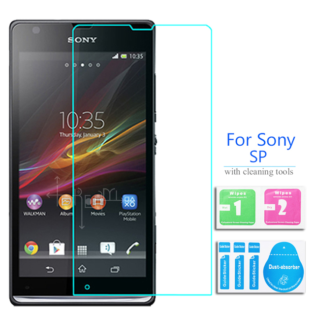 oceanside for sony xperia sp tempered glass screen protector 0 26mm rh aliexpress com Sony Xperia SL Sony Xperia C