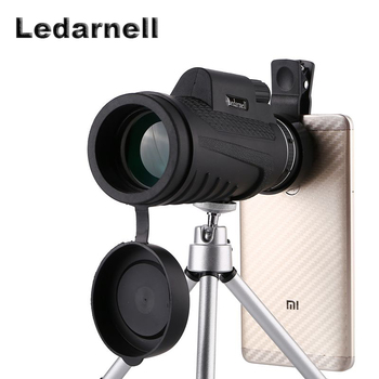 High Quality 40x60 Powerful Binoculars Zoom Binocular Field Glasses Great Handheld Telescopes Military HD Professional Hunting image