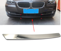 hot Exterior Front Bumper Trim Strip Decals Fog Light Lamp Cover Trim For BMW 5 series F10 F18 525li 520li Car Accessories H