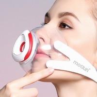 Silicone Máscara de Poeira Respirador Máscara Anti Alergia Ao Pólen PM2.5 N95 Filtros para a Poluição Reutilizáveis Anti Fog Máscara Boca Rosto Másc.     -