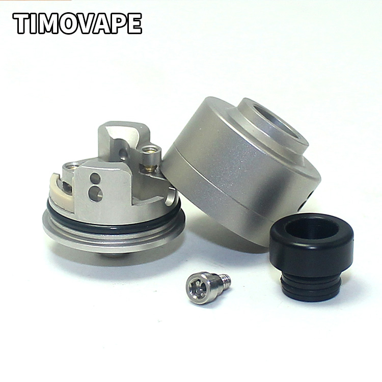 SXK Haku Venna Style RDA Reconstructible Dripping Atomiseur Avec BF Broches Pour Squonk BF Mod 22mm Atomiseur