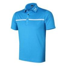 Новый гольф-Рубашка С Короткими Рукавами мужская одежда лето POLO и быстро сухой Бесплатная доставка W3226