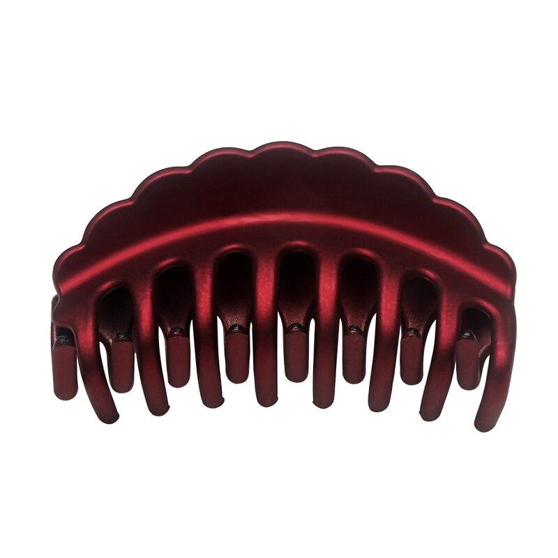 Big Women Hair Claws Plastic Hair Clips Girls Hairpin Barrettes Hair Accessories For Women Hair Styling Tool Crab Claw Headwear