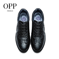 OPP Genuine Leather Men Shoes Casual Shoes For Men Cow Leather moccasins hombre  Fashion Men Loafers for Men Flats 5