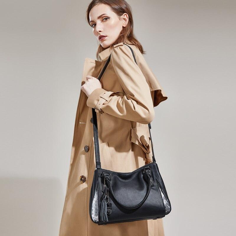 ZOOLER 2018 NOUVELLES femmes sac en cuir véritable sac en cuir de luxe sacs à main femmes sacs designer top poignée bolsa feminina # h105