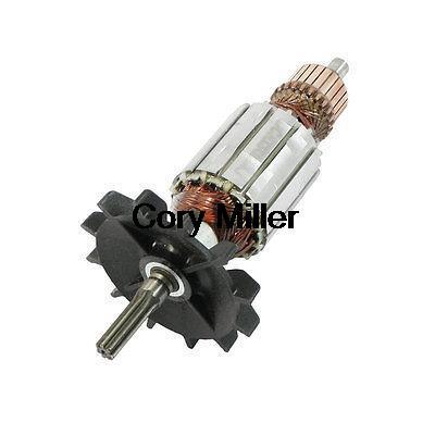 AC 220V Electric Spanner 7 Teeth Shaft Armature Rotor For Makita 6905B