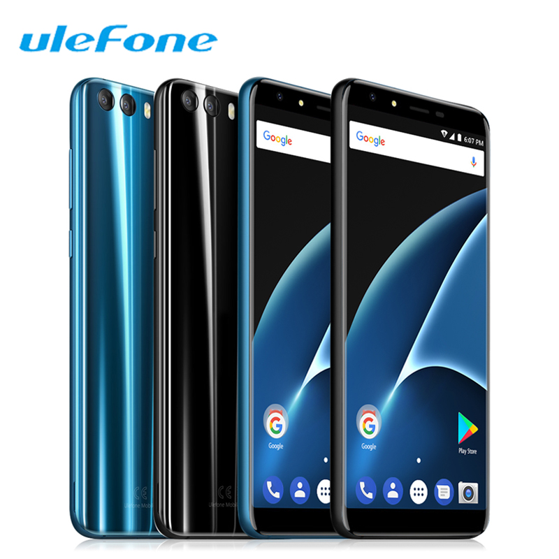 Ulefone Mix 2 4G Smartphones 5.7 Inch 18:9 Full Screen Celular Android 7.0 MTK6737 Quad Core 2GB+16GB 13MP Dual Sim Mobile Phone