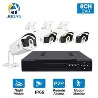 JOOAN Security Camera System 8CH Home System 4 720P 1280TVL IR Outdoor Night Vision Camera 1080N CCTV DVR Vedio Surveillance Kit