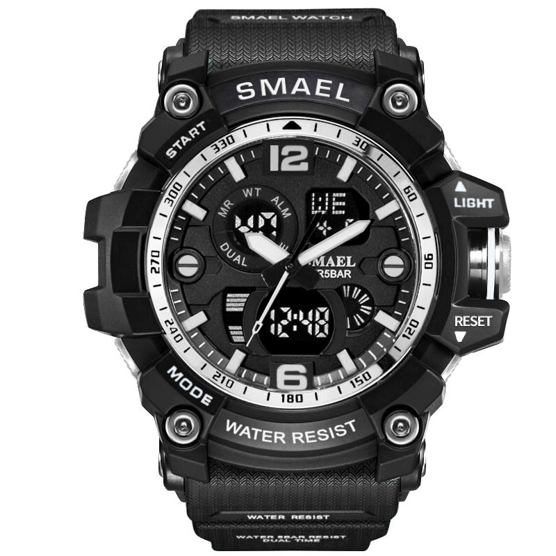 2019 New SMAEL Sport Watch Men Brand Digital Wristwatch LED Electronic Male Watches #NN0311 smael 1708b
