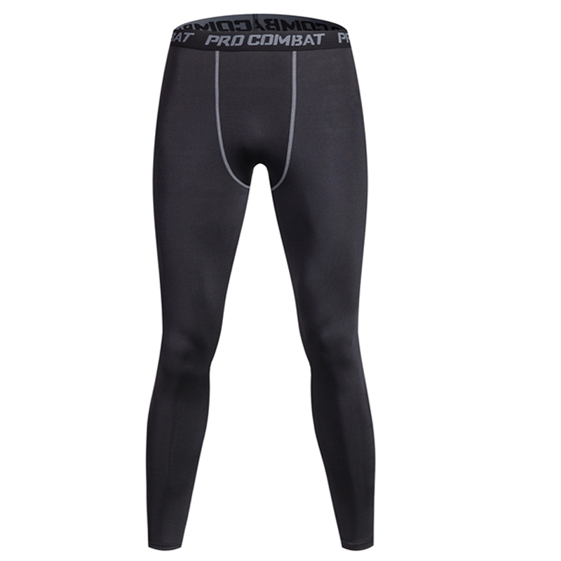 Heren bodybuildingslegging fitness Heren compressiebroek yoga-broek joggingbroek heren sportbroek strak panty anti fatiga