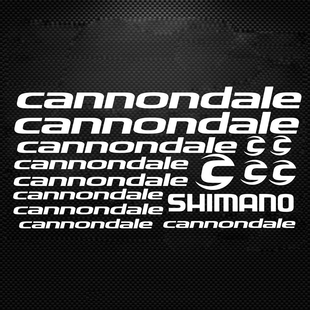 Cannondale Bicycle Bike Cycling MTB Road Frame Decal Decals Stickers Set Vinyl 3