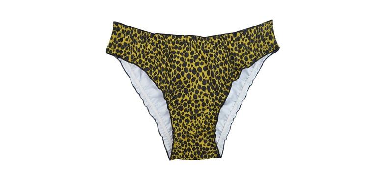 Женский купальник с низкой талией бикини снизу микро Chiffons печати двух частей отделяет плавки сексуальные купальник женский летний B607