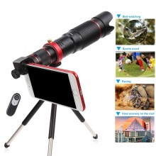 HD 4K 36x Mobile Phone Telescope Camera Optical Zoom Lens For iPhone Samsung Huawei Xiaomi Smartphone Cellphone Telephoto Lenses tokohansun hd mobile phone telephoto lens 12x zoom telescope camera lenses with clip for iphone 6s 5s 7 8 huawei xiaomi samsung