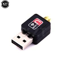 1pcs Mini USB Wifi Adapter 150Mbps 2dB Antenna Network Lan Card PC Wi-fi Receiver Wireless Portable hot sale