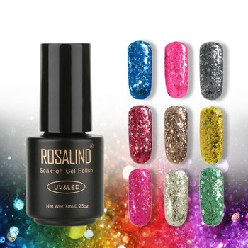 Meteor Shard Off UV LED High Quality Gel Nail Polish Semi Permanent Gel Manicure Varnish 7ml L8 Nail Gel