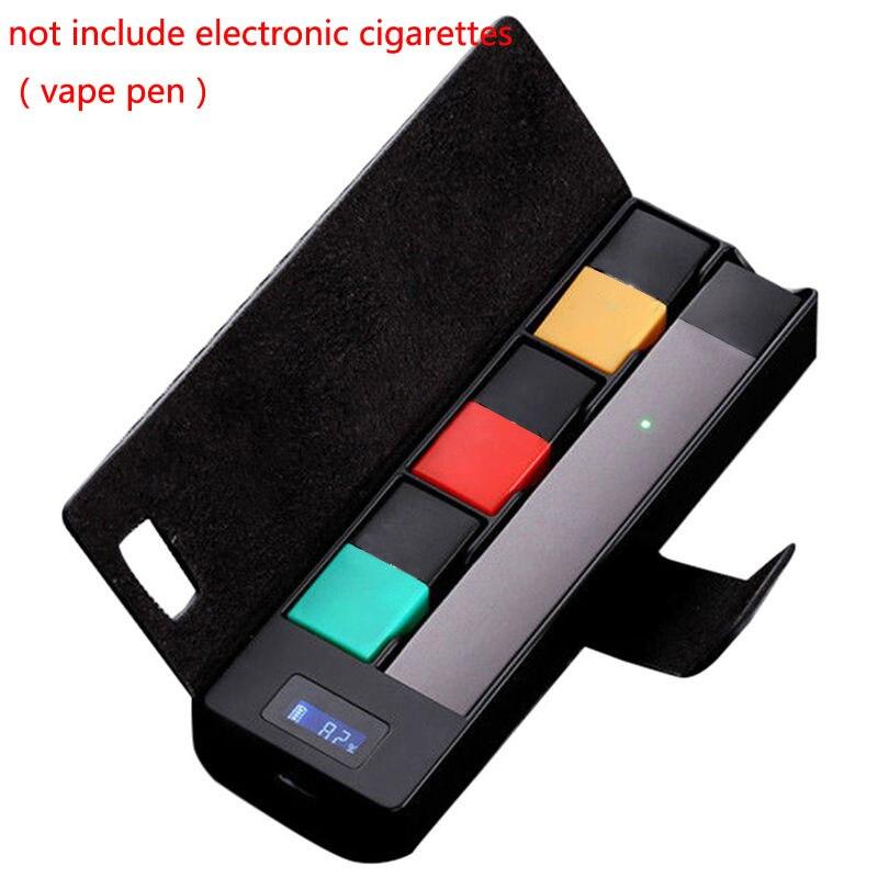 Boîte de chargement universelle Compatible pour JUUL chargeur de Cigarette électronique vape stylo pour JUUL00 chargeur Mobile boîte de support