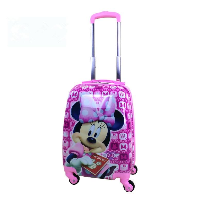 Barn Dra Stång Box PVC Spinner 16-tums 20-tums barn babyväska - Väskor för bagage och resor - Foto 3