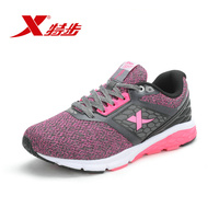 Xtep Women New Most Popular Running Shoes Outdoor Wear Resistant Shock Absorber Wearable Simple Walking Comfort