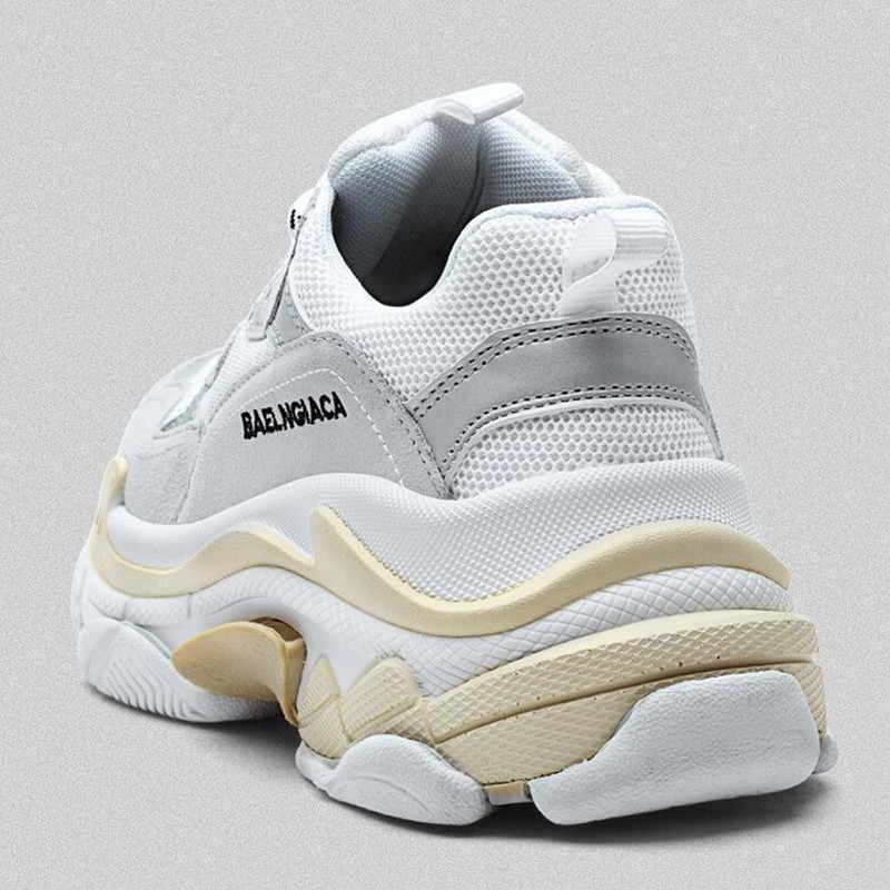 ce1ca30d9 ... AoXunLong/Новые мужские кроссовки, похожие на balencia, мужская обувь  из воловьей кожи, ...