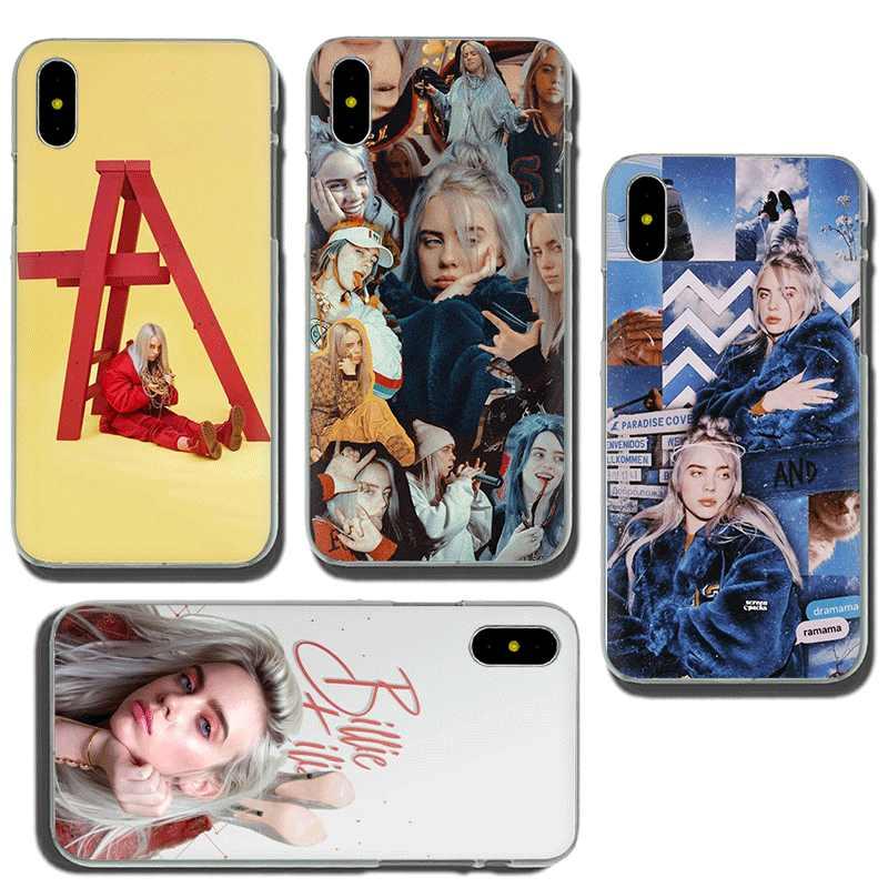 Billie Eilish Khalid belle couverture de téléphone dur étui pour iphone 5 5s 5C SE 6 6s 7 8 plus X XR XS 11 Pro Max