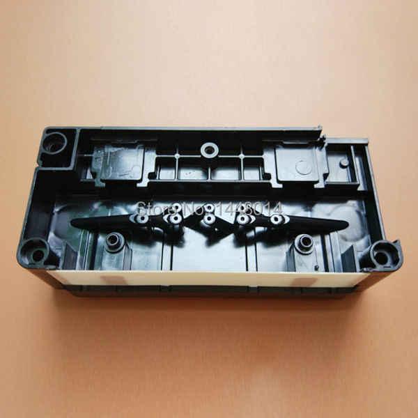 DX5 print head berbasis air manifold untuk Epson 4880 7880 9800 9880 Mimaki Mutoh RJ900 Allwin kepala cap/adaper