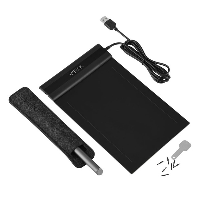 Graphic Drawing Tablet VEIIKK S640 with Pen