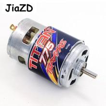تراكسس 5675 تيتان 775 موتور 10 بدوره 10T 16.8 فولت ل قمة 1/10 مقياس 4WD الكهربائية المتطرفة التضاريس الوحش قطع غيار شاحنات