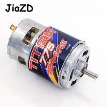 Motor traxxas 5675 titan 775, motor 10 turn 10t 16.8 volts para verão 1/10 escala 4wd terrain extremo elétrico peças sobressalentes para caminhão monster