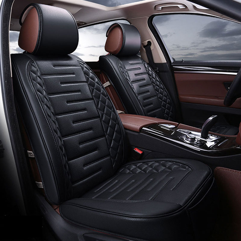 New Luxury PU Leather Auto Universal Car Seat Cover