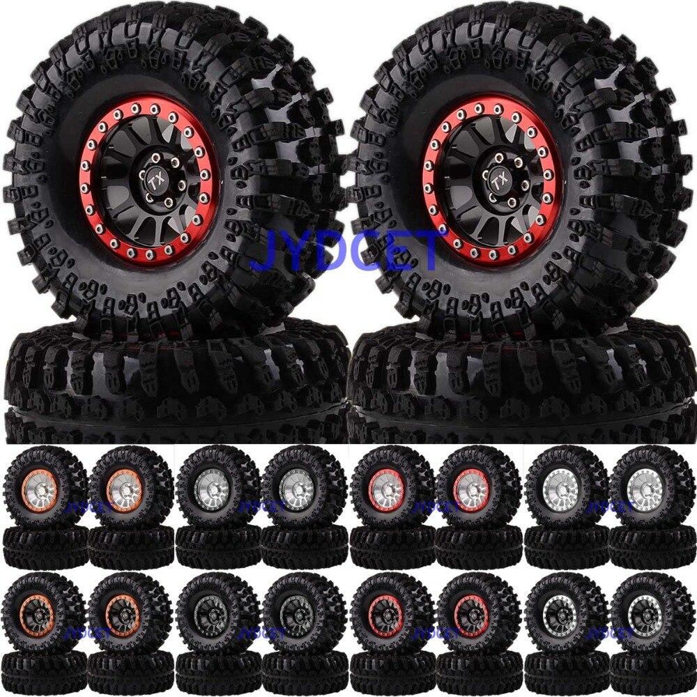 2022-3021 Aluminum 12-Spokes Beadlock 2.2 Wheel Rim & Super Swamper Rocks Tyre 125mm 4pcs For RC 1/10 Climbing Rock Crawler2022-3021 Aluminum 12-Spokes Beadlock 2.2 Wheel Rim & Super Swamper Rocks Tyre 125mm 4pcs For RC 1/10 Climbing Rock Crawler