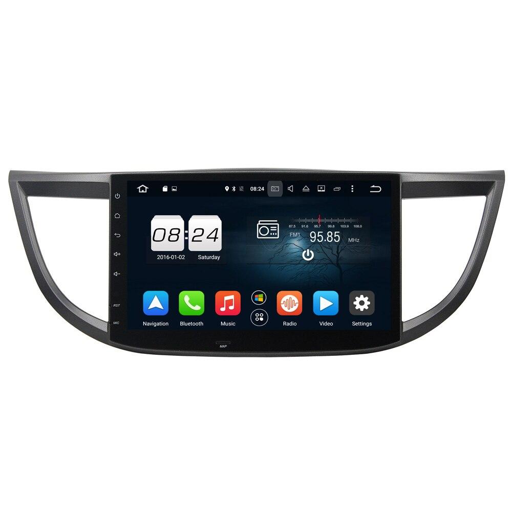 Android 6.0 Octa Core 1 Din Car Head Unit GPS Navi For Honda CRV 2012-2015 Capacitive Screen WIFI 3G/4G Car Radio Video Player