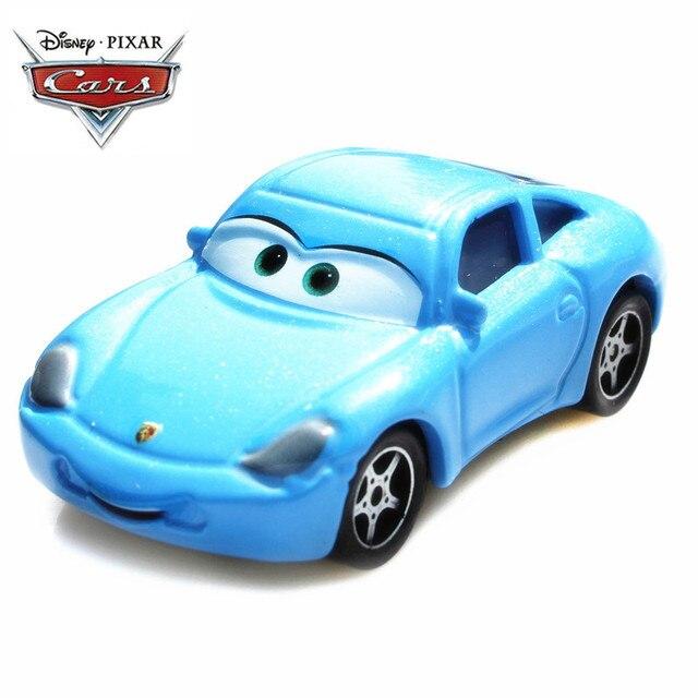Disney Pixar Cars 2 3 Lightning Mcqueen Sally Blue Porsche Cars 1 55