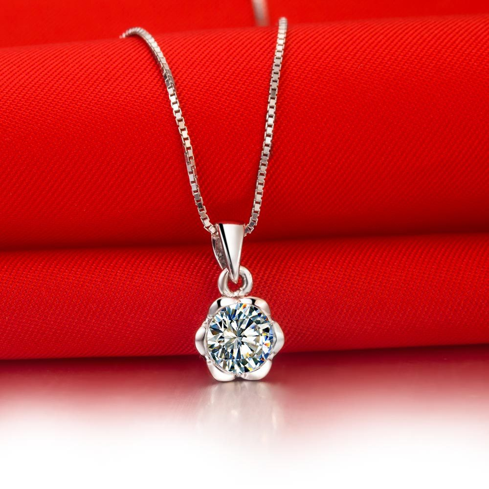 necklace diamond necklaces imageid ct white round clarity recipename costco gold i solitaire color imageservice profileid brilliant